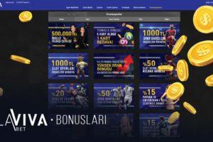 lavivabet bonus
